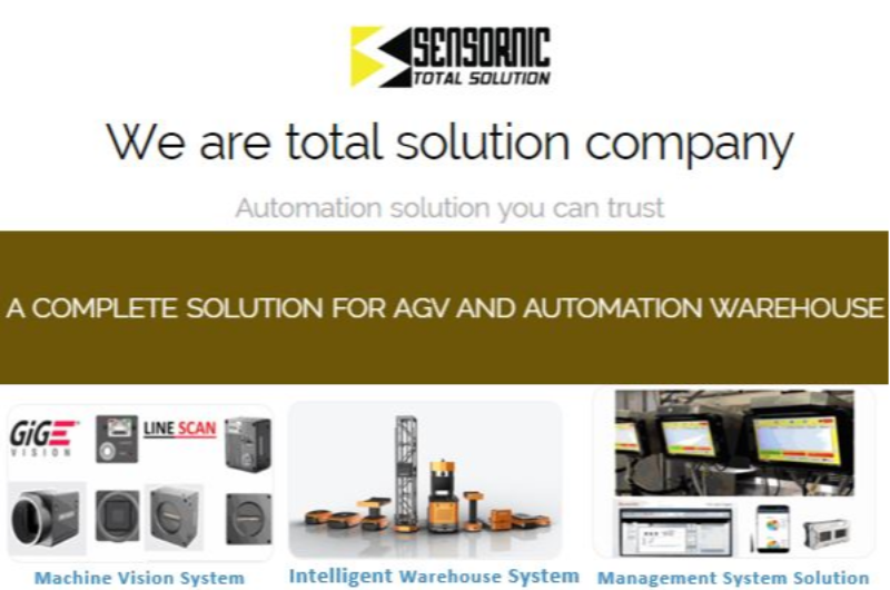 SENSORNIC : We are total solution company